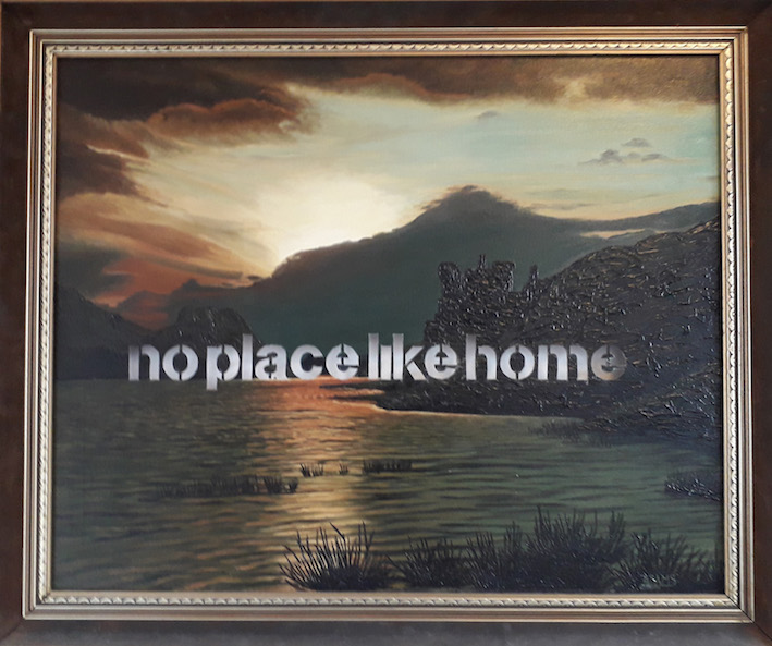 "Amikam Toren, Armchair Painting: ""no place like home"", (2016), 78 x 88 cm"